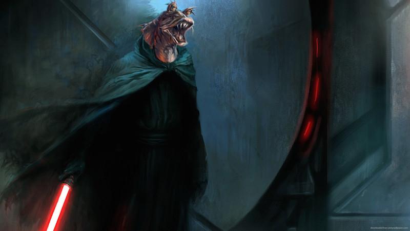 Jar Jar Binks mroczniejszy od Vadera. Ta fanowska grafika zachwyca