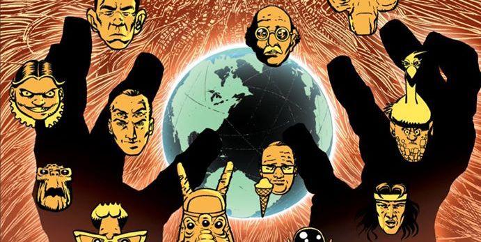 Kompletny szok przyszłości – plansze z komiksu Alana Moore'a