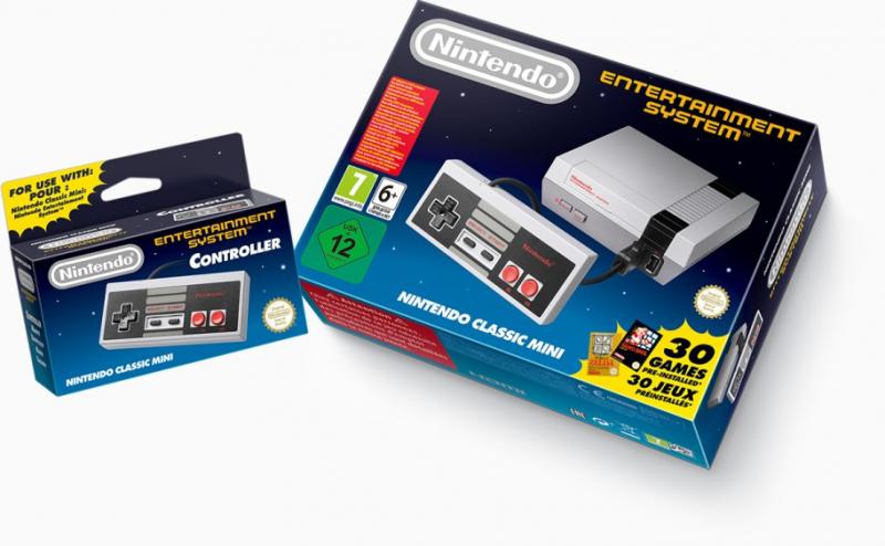 Nintendo Classic Mini: NES hitem w brytyjskim Amazonie