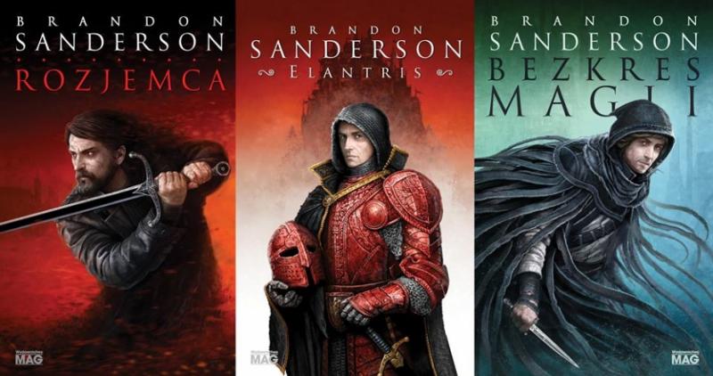 Brandon Sanderson: nowe książki i komiks w przyszłym roku