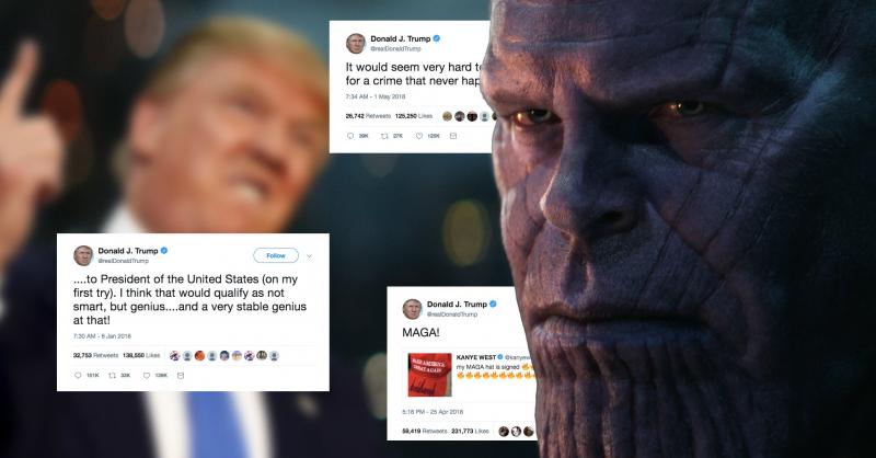 Josh Brolin czyta tweety Donalda Trumpa jako Thanos – obejrzyj wideo