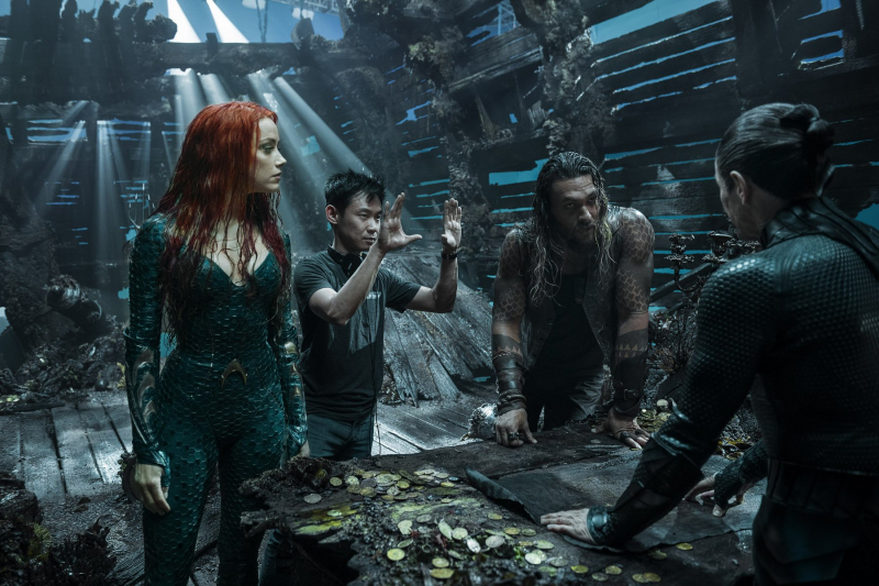 Aquaman bez nominacji do Oscara. Ostry komentarz Jamesa Wana