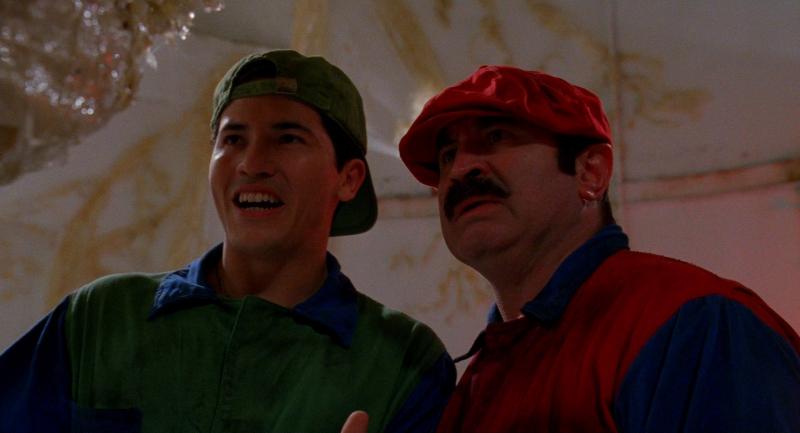 Powrót do przeszłości: Zobacz zdjęcia z planu filmu Super Mario Bros.