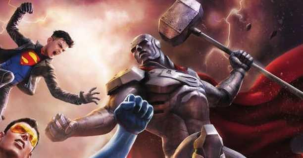 Reign of the Supermen – okładka wydania Blu-ray. Zobacz zdjęcie