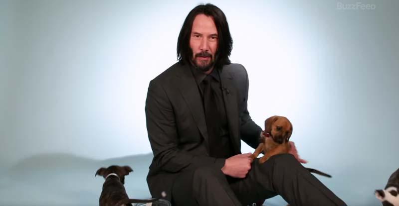 Keanu Reeves - najfajniejszy człowiek na świecie? Tym wideo skradnie Wasze serca