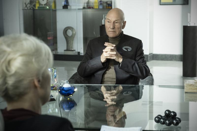Star Trek: Picard - Patrick Stewart twierdzi, że serial może zaszokować fanów