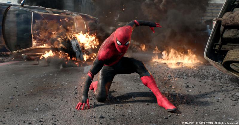 Spider-Man: Daleko od domu - finałowa walka po nałożeniu efektów specjalnych [ZDJĘCIA]