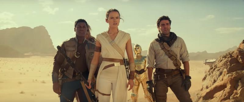 Gwiezdne Wojny: Skywalker. Odrodzenie - plakaty i spoty. Czy Poe i Finn będą parą?