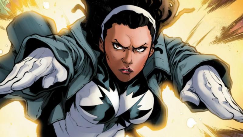 Kapitan Marvel - Monica Rambeau również pojawi się w parodii porno. Jest zdjęcie
