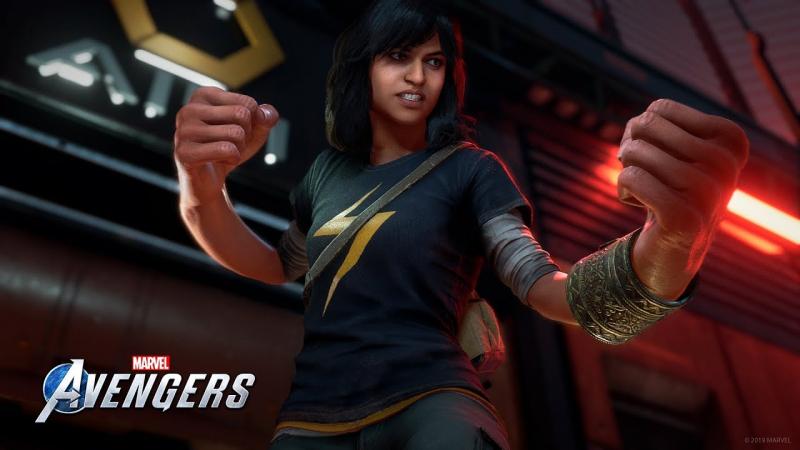 Kamala Khan w Marvel's Avengers! Nowy zwiastun gry przedstawia Ms. Marvel