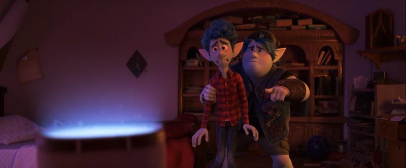 Naprzód - film Pixara miał być pierwotnie produkcją sci fi, nie fantasy