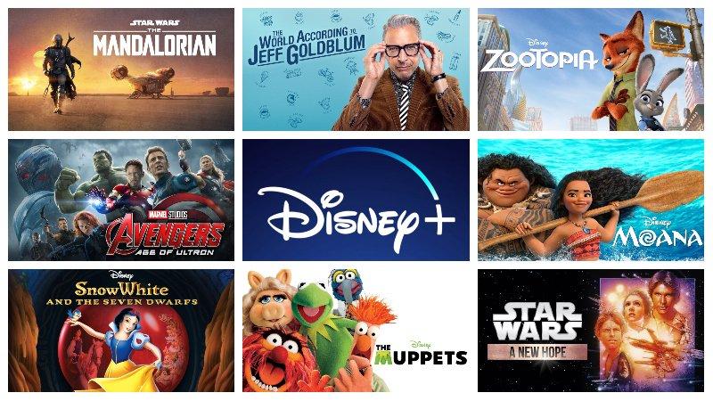 Disney+ - znamy pełną listę tytułów dostępnych na platformie