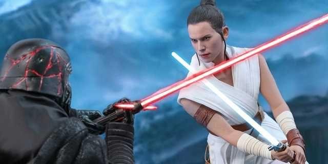 Skywalker. Odrodzenie - Rey kontra Kylo Ren i zestaw treningowy bohaterki. Zdjęcia zabawek