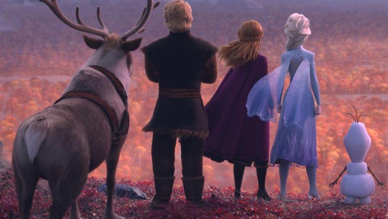Kraina lodu 2 - zjawiskowe zdjęcia w wysokiej jakości z animacji Disneya