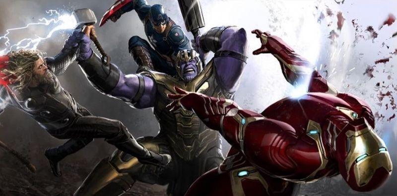 Avengers: Koniec gry - Trójca MCU vs. Thanos. Nowe, świetne szkice!