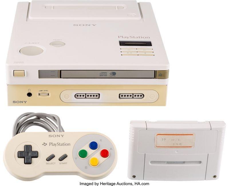 Prototyp Nintendo Play Station sprzedany za zawrotną kwotę