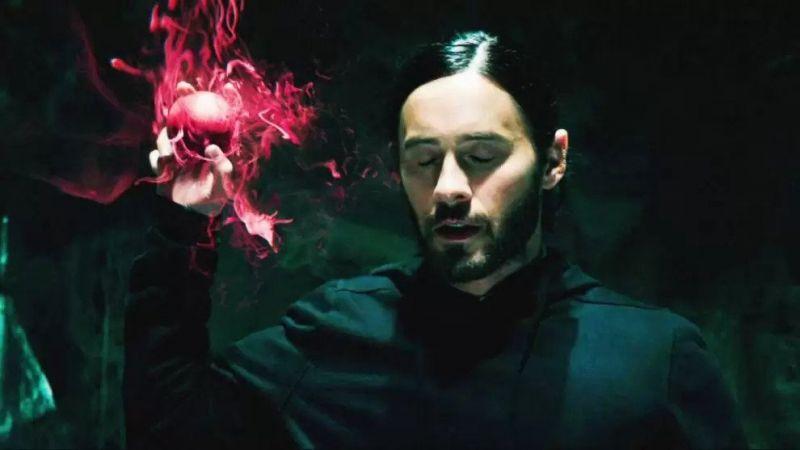 Morbius - Jared Leto zmienia się w wampira na nowej grafice promującej film