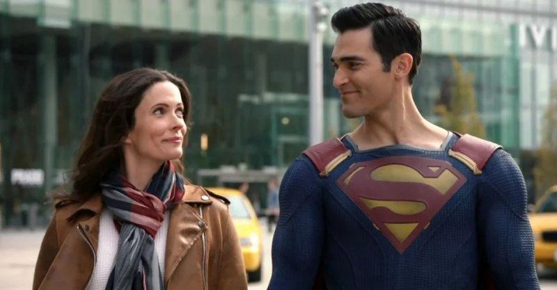 Superman & Lois - nowe zdjęcia zza kulis serialu ujawniają środki bezpieczeństwa na planie