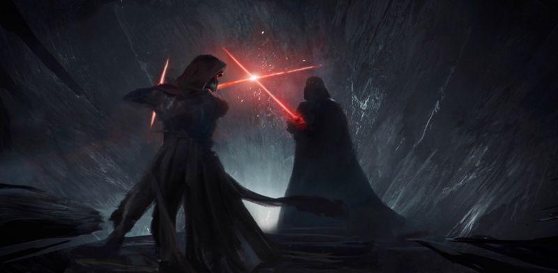 Star Wars 9: Duel of the Fates - animacja pokazuje wizję niedoszłego reżysera