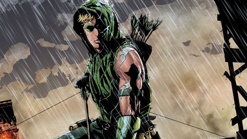 Green Arrow - recenzja komiksu