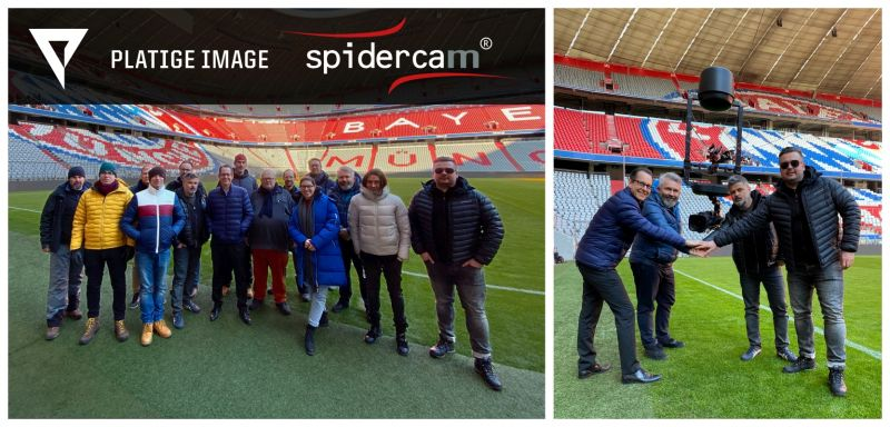 Platige Image wzbogaci transmisje Spidercam o treści AR