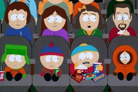 Mieszkańcy South Park zasiedli na trybunach meczu footballu amerykańskiego. Świetna akcja w Denver