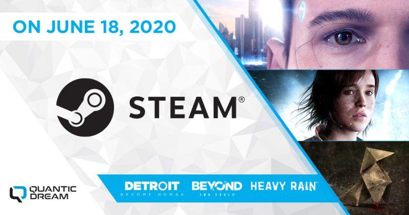 Heavy Rain, Beyond: Dwie Dusze i Detroit: Become Human trafią na Steam