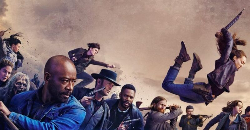 Fear the Walking Dead na San Diego Comic-Con 2020 - obejrzyj panel
