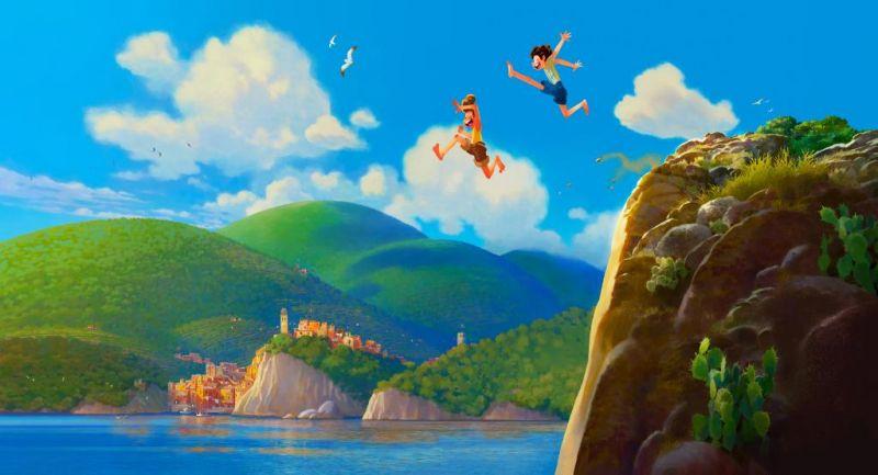 Luca - plakat nowego filmu Pixara. Jest informacja o dacie premiery zwiastuna