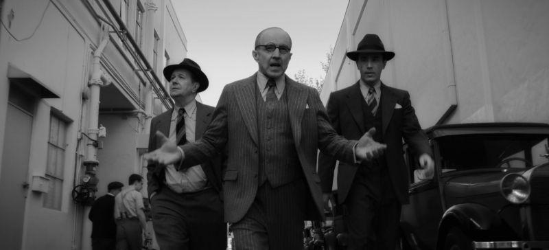 Mank - zdjęcia z filmu Netflixa. Za kamerą David Fincher