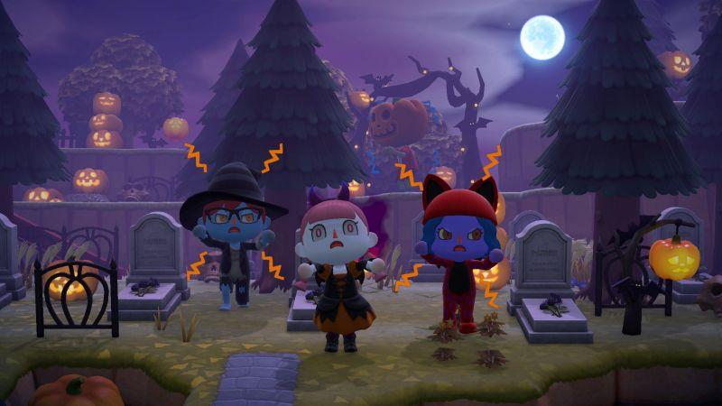 Animal Crossing: New Horizons - Halloween zawitało do wirtualnego świata