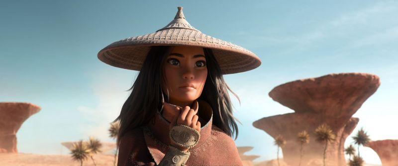 Raya i ostatni smok - pełny zwiastun nowej animacji Disneya. Wojowniczka na tropie legendarnej bestii
