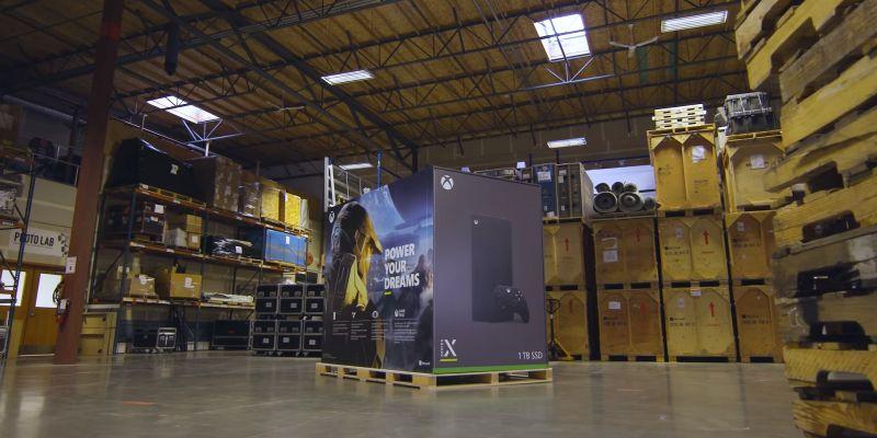 Microsoft nagrał trailer... lodówki Xbox Series X Fridge