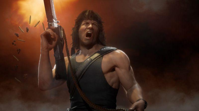 Mortal Kombat 11 - Rambo potwierdzony! Zobaczcie zwiastun Kombat Pack 2