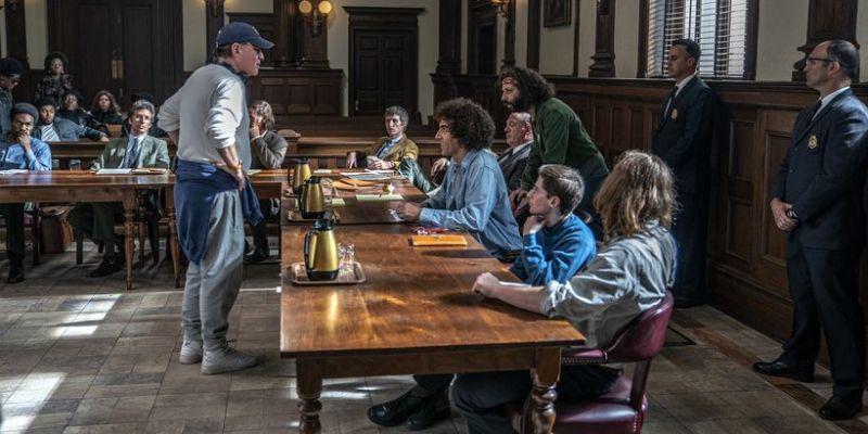 Proces Siódemki z Chicago - relacja z premiery. Aaron Sorkin o filmie [VIDEO]