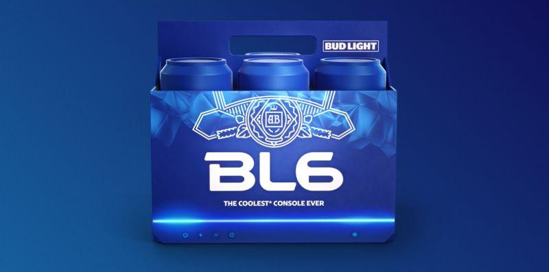 BL6 - ta konsola schłodzi piwo i odpali Tekkena