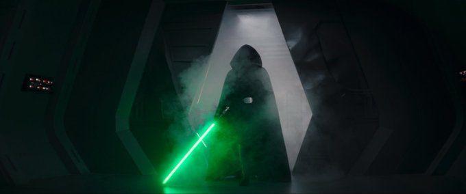 The Mandalorian - Mark Hamill jako Luke Skywalker. Zdjęcie z planu 2. sezonu