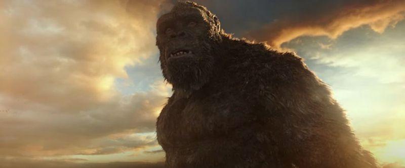 Godzilla kontra Kong - nowy teaser. Król Potworów chce utopić wroga