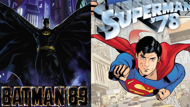 Batman (1989) i Superman (1978) - DC zapowiada komiksy osadzone w uniwersach filmów!