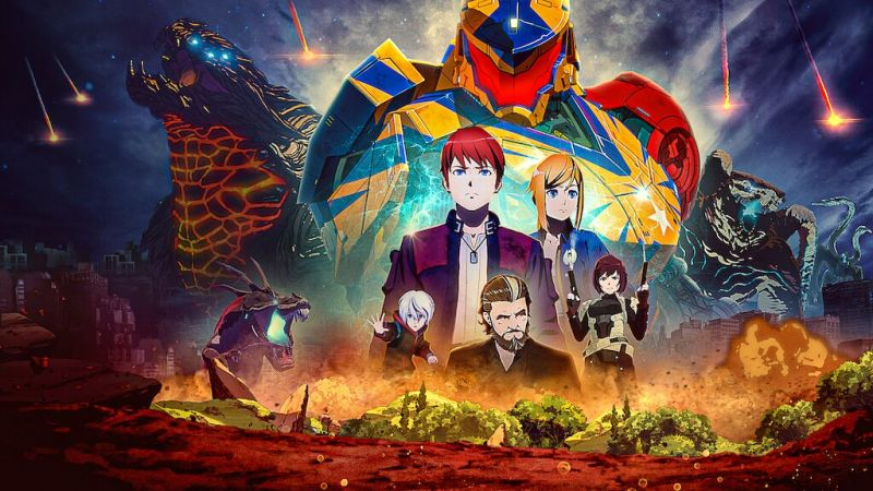 Pacific Rim: The Black - kolejny, emocjonujący zwiastun serialu anime Netflixa