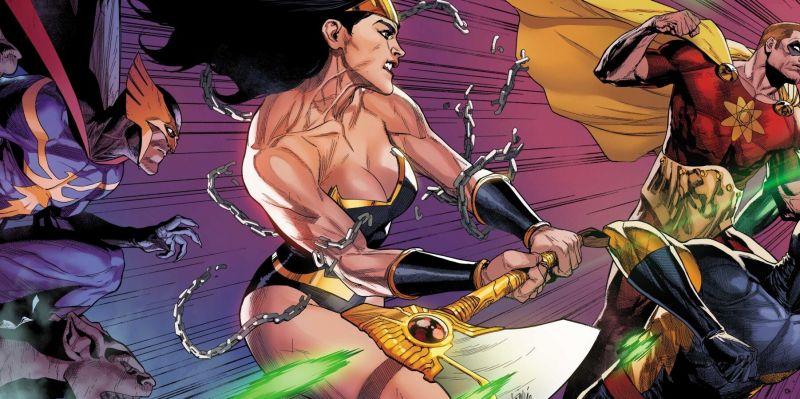 Wonder Woman z Marvela zabija jak szalona. Wśród ofiar Knull i złoczyńca Thor: Love and Thunder