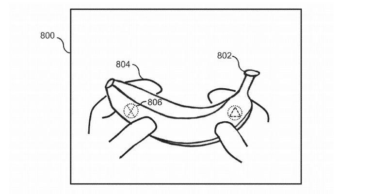 Banany w roli padów do PS5? Takie rozwiązanie sugeruje patent Sony