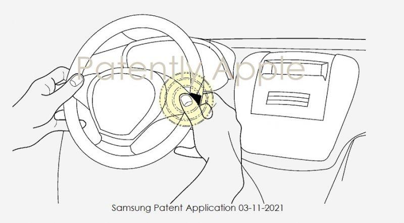Samsung chce zintegrować zapłon samochodów z czytnikiem linii papilarnych