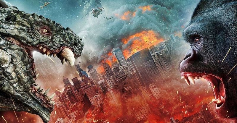 Ape vs. Monster - zwiastun niskobudżetowego filmu inspirowanego widowiskiem Godzilla kontra Kong