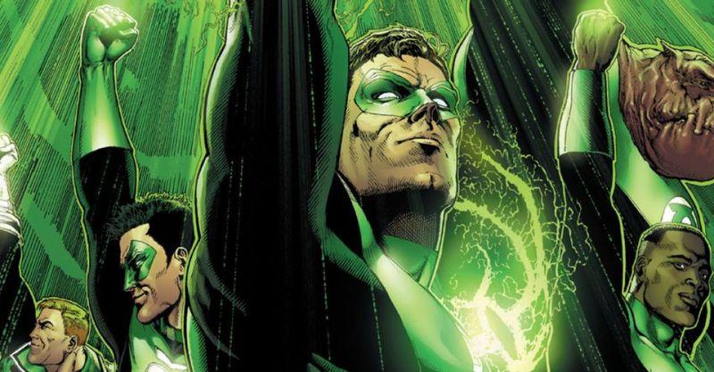 DC w końcu ujawnia, dlaczego Ziemia ma tyle Zielonych Latarni