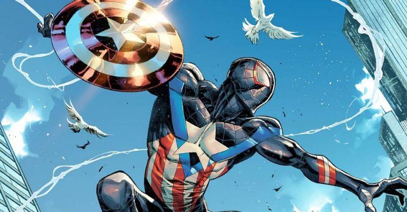 Miles Morales jako Kapitan Ameryka. Okładka przyciąga - tylko czy to na pewno heros?