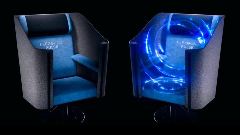 Fotele Flexound Pulse spersonalizują kinową ścieżkę dźwiękową