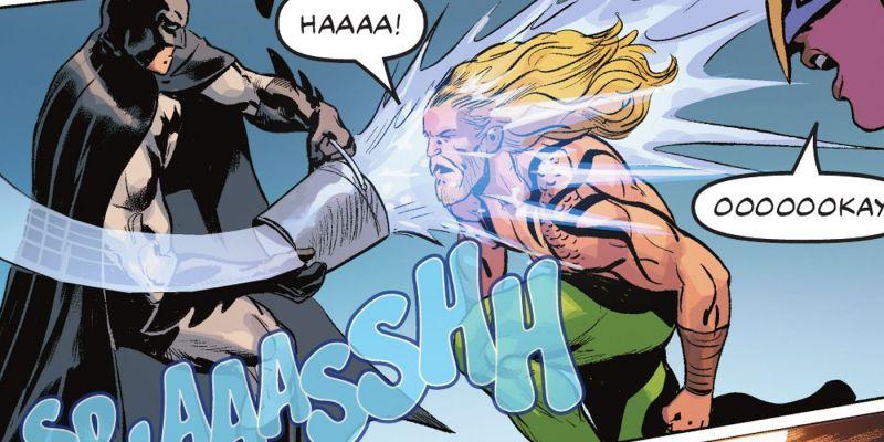 Batman chluśnie, bo Aquaman uśnie. Niesamowita walka Ligi Sprawiedliwości; [SPOILER] zniszczona!