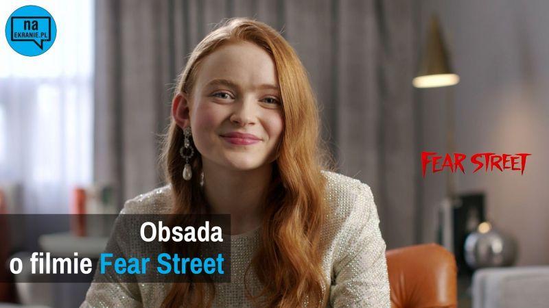 Ulica strachu - wywiad wideo z aktorami hitu Netflixa. Czy lubią horrory?