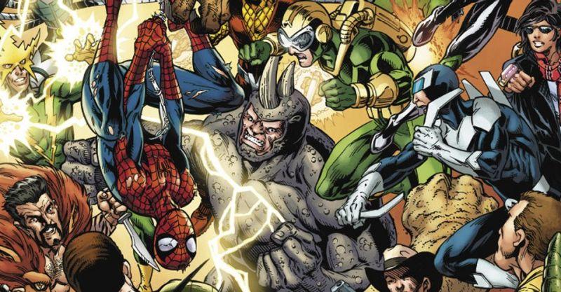 Marvel - złoczyńcy runą na Spider-Mana w Sinister War! 6 grup, 34 łotrów - ilu z nich znacie?